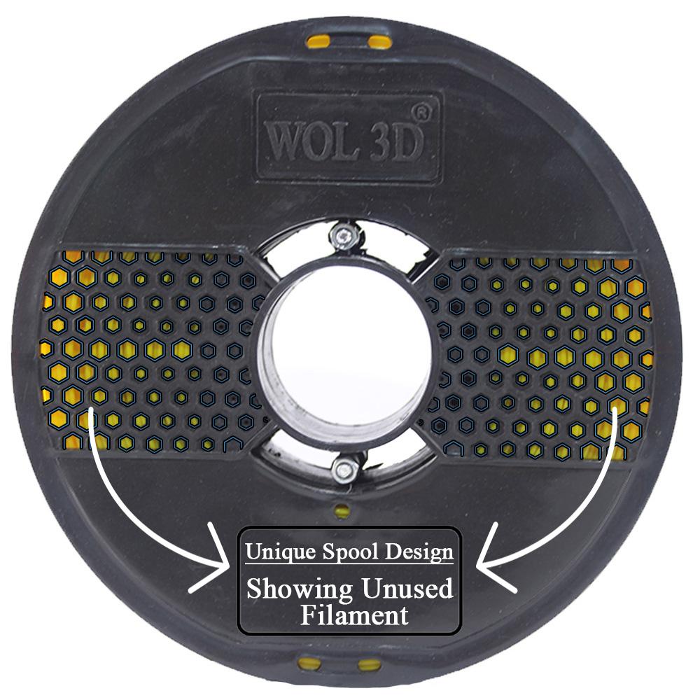 Web Spool Design for 3d filaments