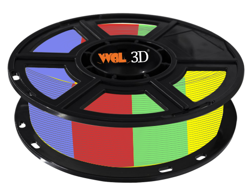 PLA Multicolor Filaments