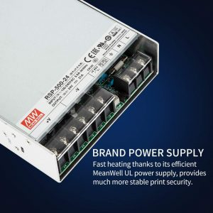 Creality CRX Pro with MEanwell Power Supply