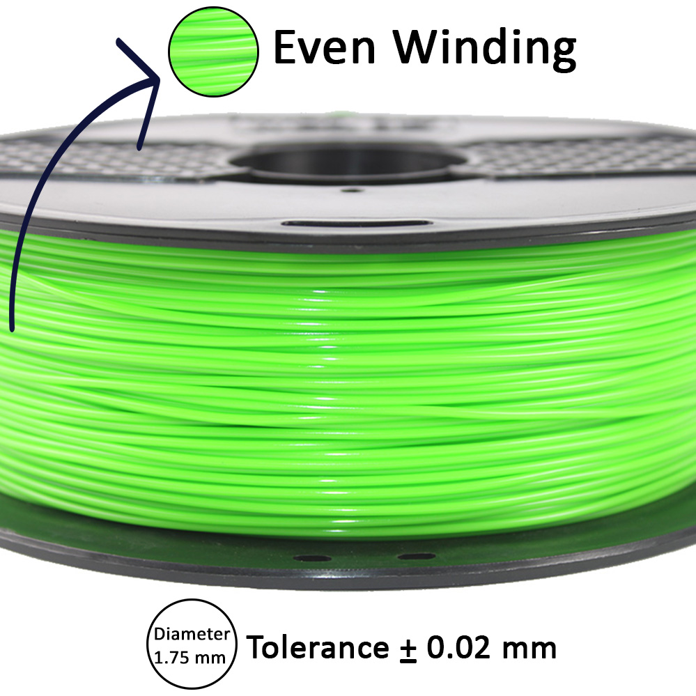 Even Winding 3d filament