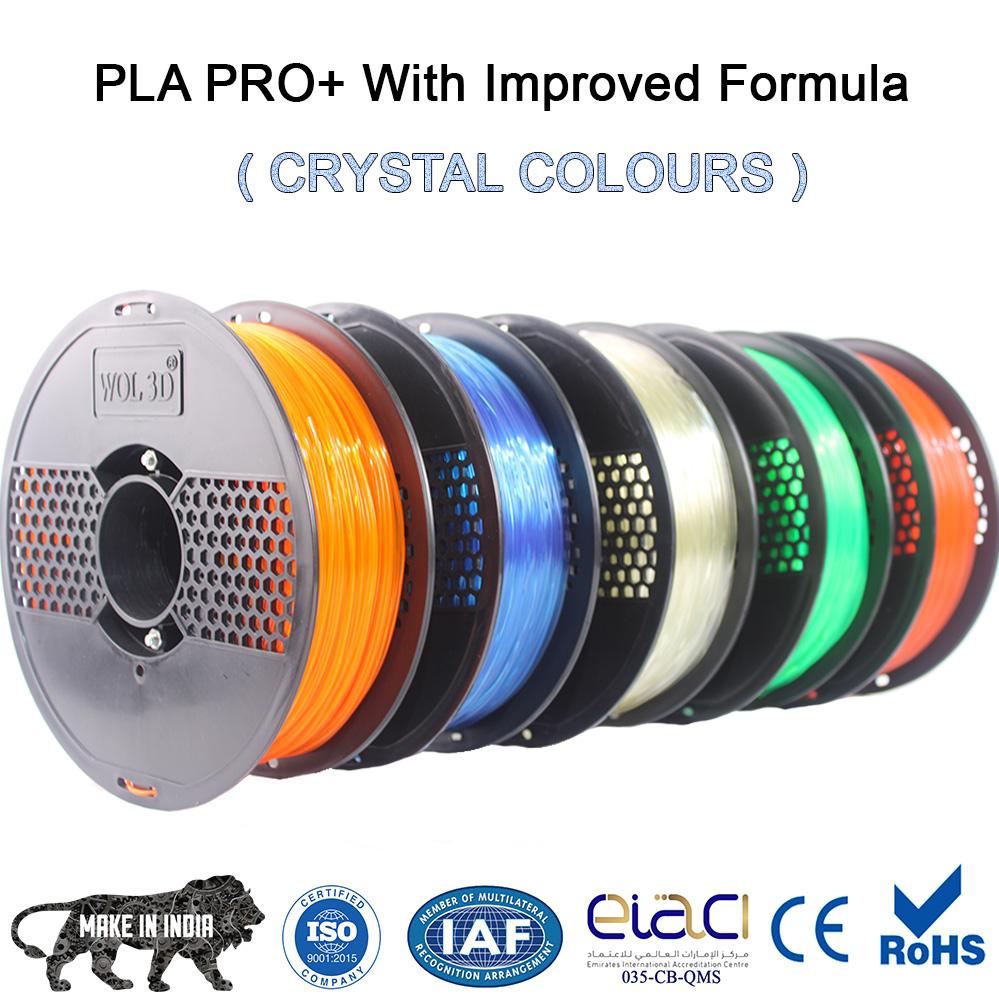 Crystal 3D filaments