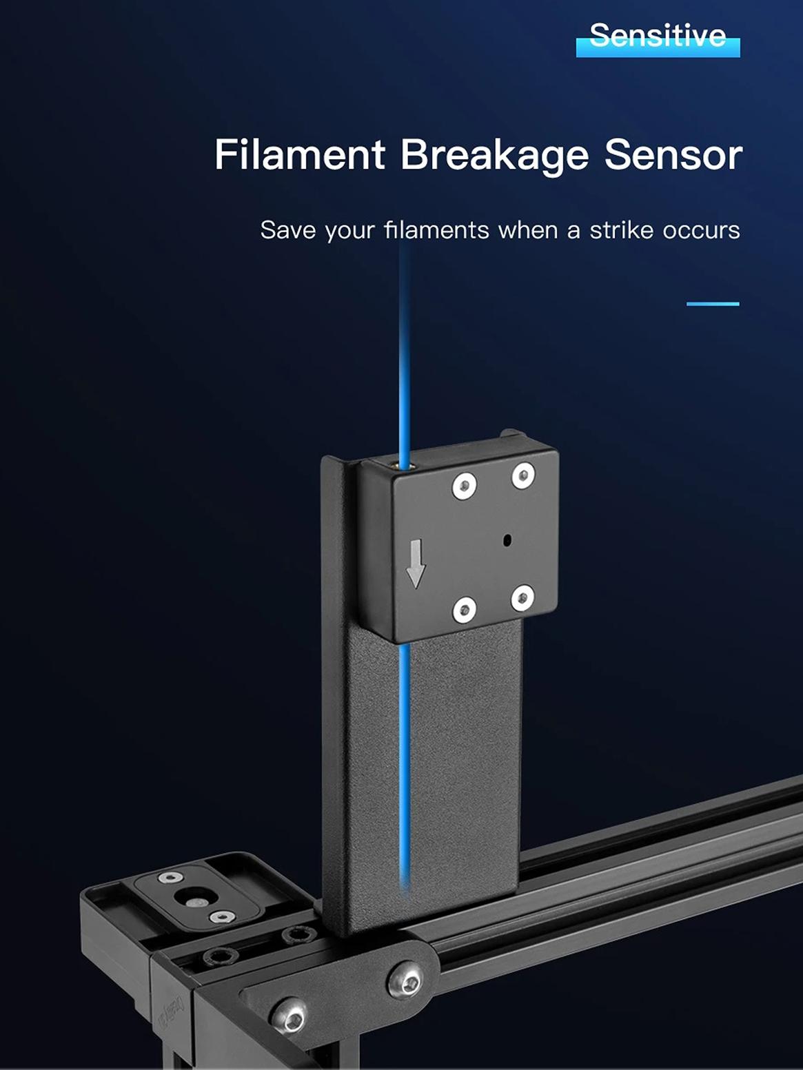 Creality CR 10 V3 filament sensor