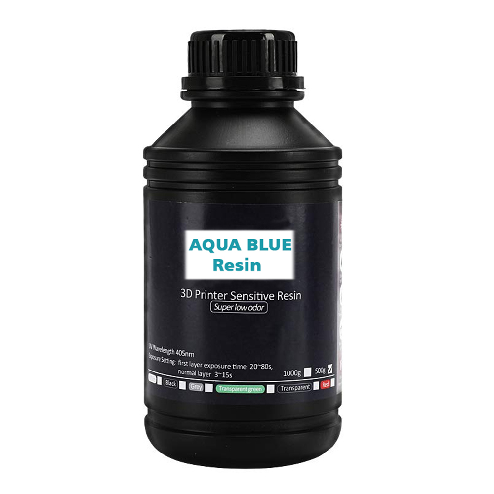 LCD Resin Aqua Blue