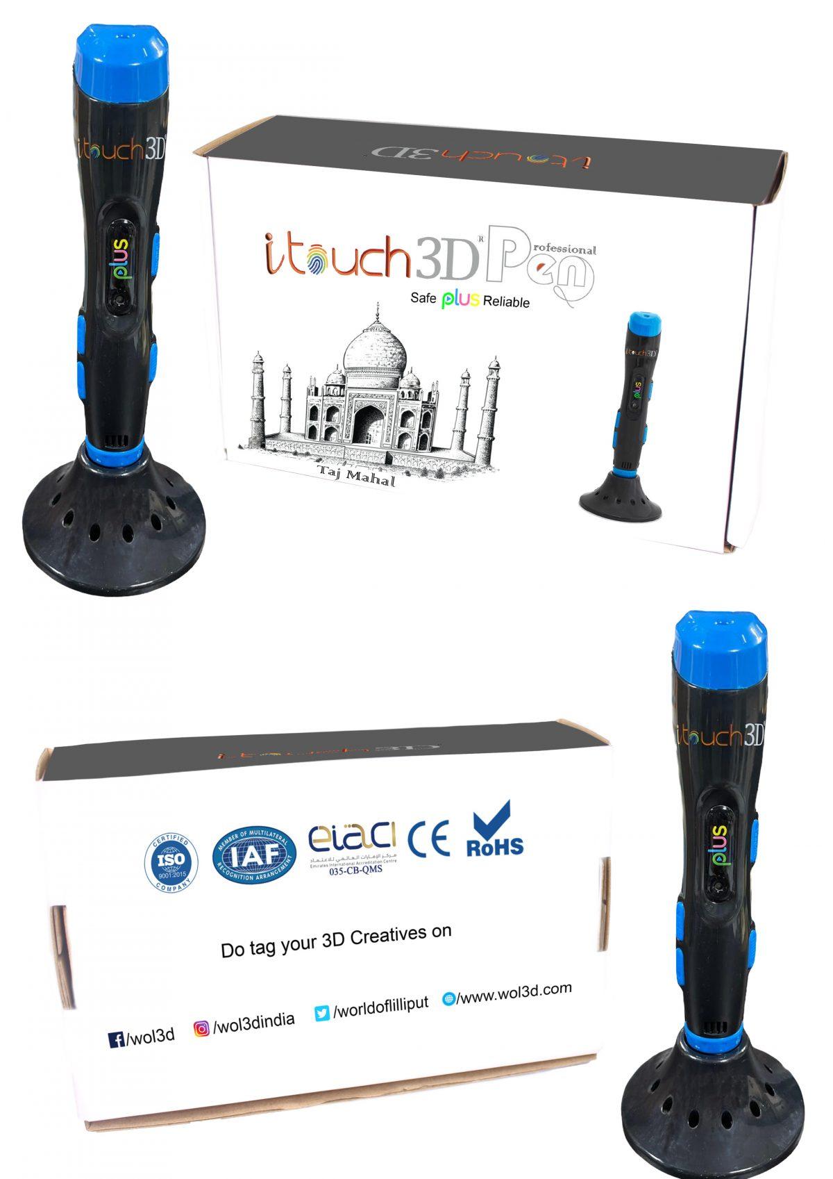 I touch Plus 3D pen Box