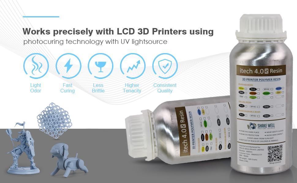 Abs like resin for LCD Printer