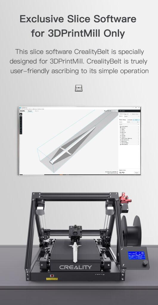 CR 30 print mill Slice software
